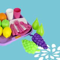 Посуда и продукты