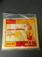 """Пакеты фасовочные """"Майка"""" 24*42 (100 шт) 7 мкм"""