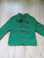 Куртка  джинсовая детская на девочку
