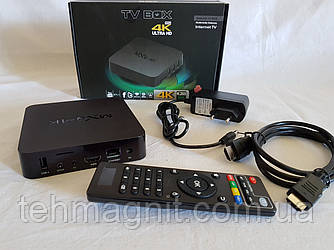 Приставка смарт ТВ Android Smart TV MXQ PRO 4K, смарт приставка к телевизору TV BOX Internet TV ( Копия )