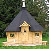 Баня деревянная шестигранник S=17м2