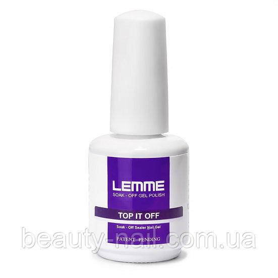 Lemme - Фінішне покриття з липким шаром, 15 мл