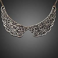 Нарядный воротничок ожерелье из металла