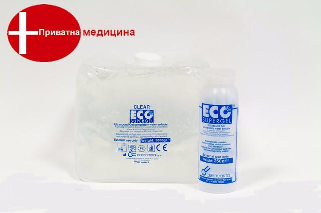 Прозрачный ECO SUPERGEL 5000ml