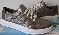 Dior копия! Модные женские кожаные кеды прострочкой туфли слипоны обувь взуття