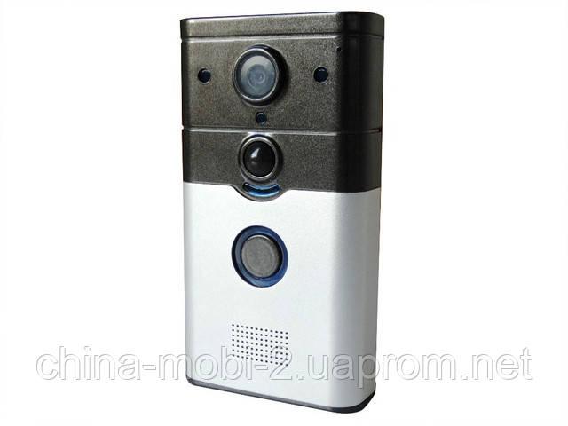 Домофон SMART DOORBELL  с камерой, wi-fi и слотом под карту памяти microSD TF