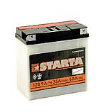 Аккумулятор Starta 6мтс 9С з ручкою на болт, фото 2