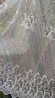 Тюль кристалон с люрексом Инеса