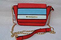 Маленькая красная сумочка в стиле Michael Kors