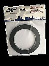 Двухсторонний скотч 2XP Extra Strong черный 6 мм x 5 м