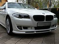 Губа юбка на передний бампер BMW F10 стиль Hamann