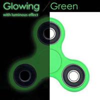 Спиннер люминесцентный Handspinner Lumen green