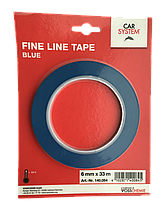 Двухсторонний скотч Car System Fine Line Tape Blue синий 6 мм x 33 м