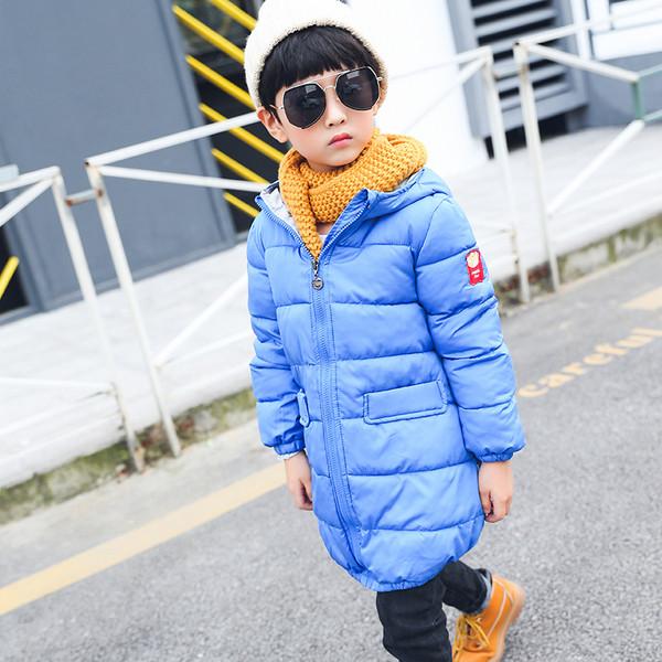 Куртка зимняя детская длинная