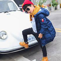 Куртка зимняя детская длинная, фото 2