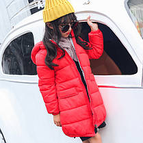 Куртка зимняя детская длинная, фото 3