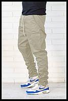 Мужские Джогеры с карманами карго синие
