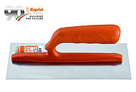 Гладилка плоская 12х28 см, 0,6 мм, ручка нейлон, Италия
