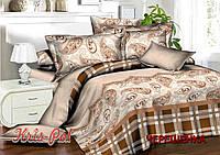 Семейный набор хлопкового постельного белья из Ранфорса №18171 KRISPOL™