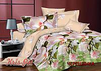 Семейный набор хлопкового постельного белья из Ранфорса №18178 KRISPOL™