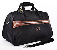 Сумка дорожная спортивная текстильная черная RVS 8073, фото 1