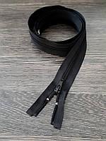 Молния одежная №5 спираль 95см черная