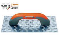 Гладилка Kapriol с шыпами, 14х25 см, оцинк.сталь