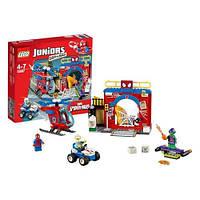 Конструктор LEGO серия Juniors Убежище Человека-паука 10687