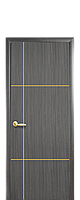 Дверь Ника голд с гравировкой, цвет грей,венге,золотая ольха,орех премиум, ясень