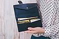 Мужское портмоне из кожи crazy 3.0, фото 10