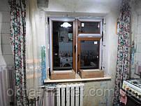 Цветные пластиковые окна Киев бул. Перова 23