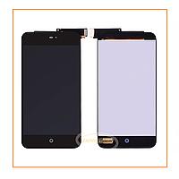 Дисплей Meizu MX2 с сенсором (тачскрином) Black Original