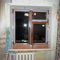 Металлопластиковые окна цветные в Киеве, монтажная бригада №5