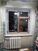 Окна ламинированные с подоконником Danke