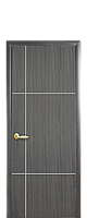 Дверь Ника сильвер с гравировкой, цвет грей,венге,золотая ольха,орех премиум, ясень