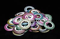 """Лента для дизайна ногтей """"Сахарная нить"""", 0,1 мм, цвета в ассортименте"""