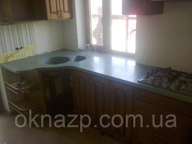 Кухонная столешница запорожье акриловая столешница в ванную с раковиной