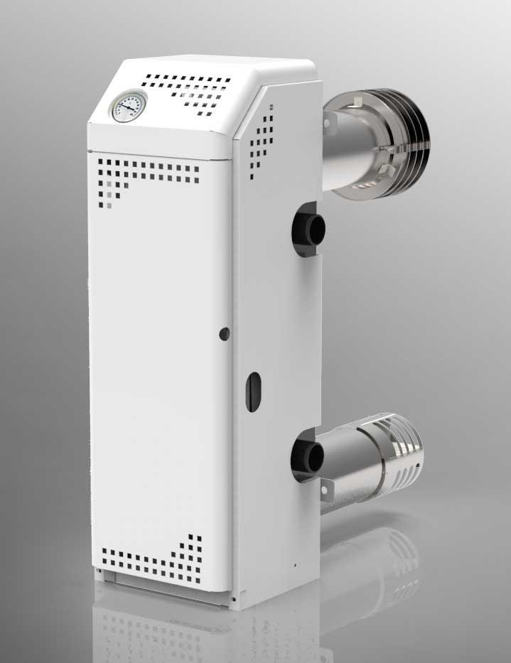 Котел газовый Атем Житомир-М АДГВ -10 СН-2конт - парапет, двухтрубный