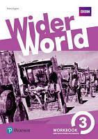 Wider World 3 WorkBook with Online Homework