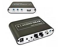 Конвертер звука оптика/DTS/AC3 в аналог 5.1