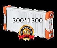 TEPLOVER 300х1300 22 тип стальной радиатор с боковым подключением