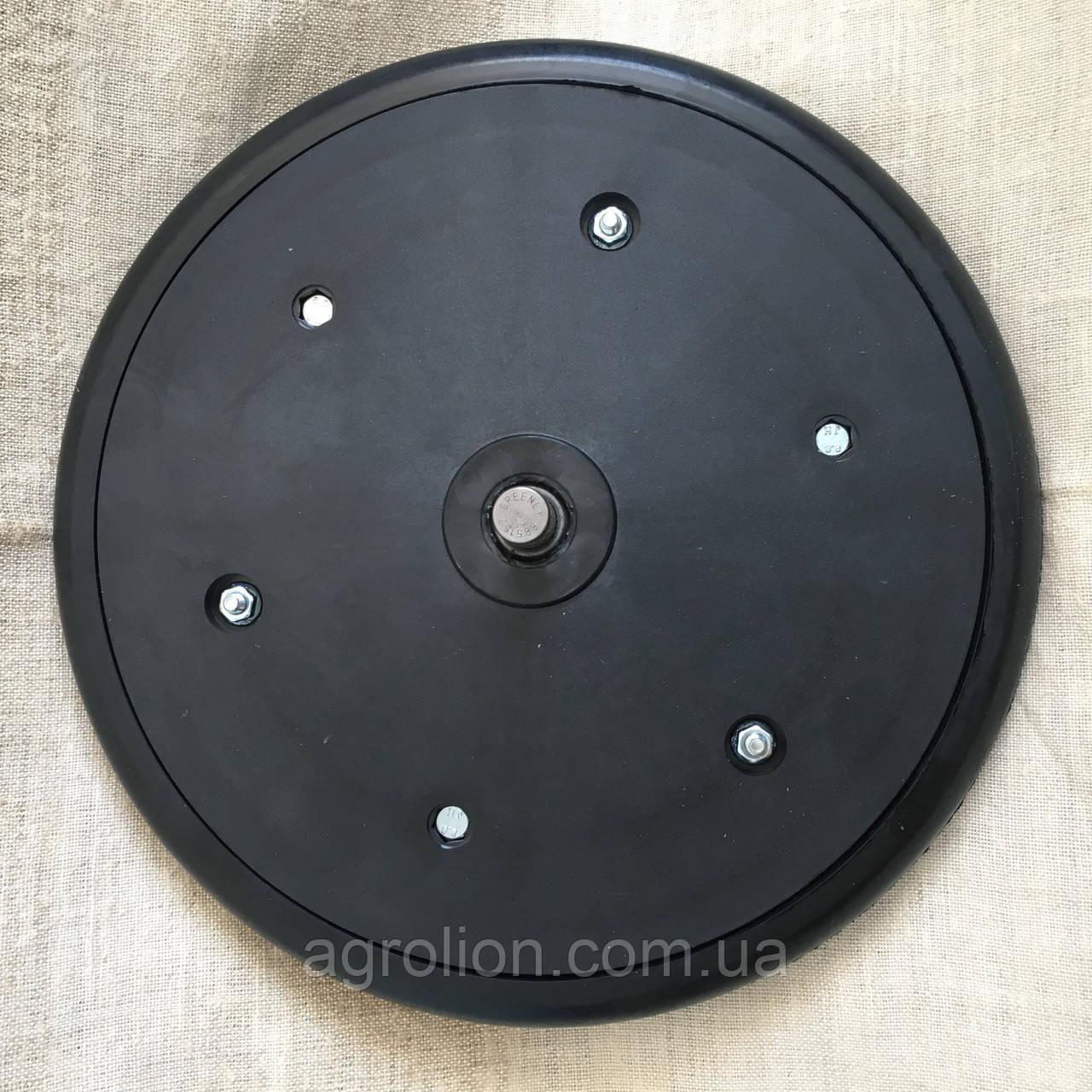 """Прикотуюче колесо в зборі ( диск поліамід) з підшипником  1"""" x 12"""", AA43899,  John Deere, з підшипником 885152"""