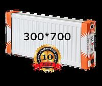 TEPLOVER 300х700 22 тип стальной радиатор с боковым подключением