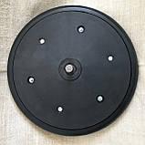"""Прикотуюче колесо в зборі ( диск поліамід) з підшипником   1"""" x 12"""", John Deere, AA33297, з підшипником 885152, фото 2"""