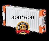 TEPLOVER 300х600 22 тип стальной радиатор с боковым подключением