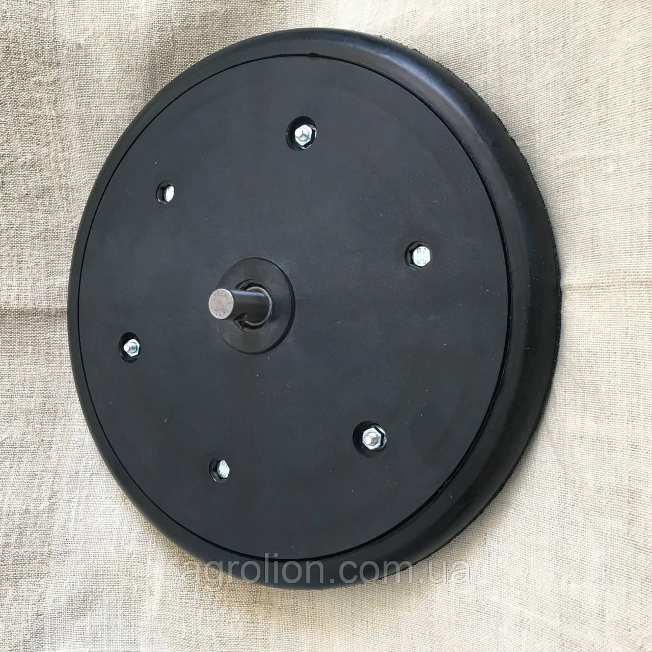 """Прикотуюче колесо в зборі ( диск поліамід) з підшипником   1"""" x 12"""", John Deere, AA33297, з підшипником 885152"""