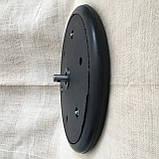 """Прикотуюче колесо в зборі ( диск поліамід) з підшипником   1"""" x 12"""", John Deere, AA33297, з підшипником 885152, фото 3"""