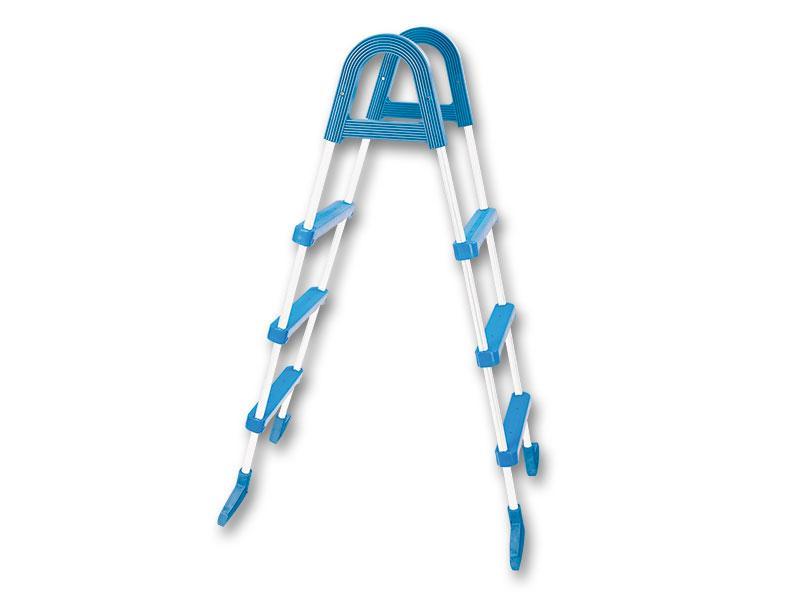 Сходи Azuro Basic для збірних басейнів висотою 0,9 м (3 сходинки)