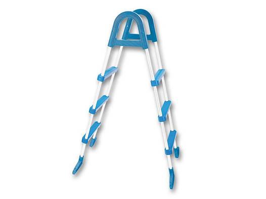 Лестница Azuro Basic для сборных бассейнов высотой 0,9м (3 ступеньки)