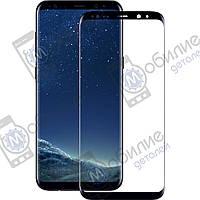 Защитное стекло Samsung S8 Plus (G955) 3D Black Full Screen
